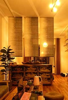 Affordable Bamboo Shades For Goldenwest Living Room