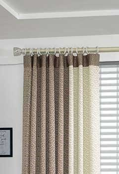 Decorative Blackout Curtains For Guestroom Windows, Costa Mesa