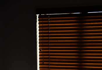 Faux Wood Blinds, Costa Mesa