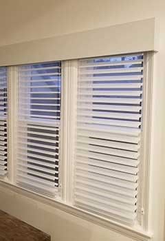 Affordable Faux Wood Blinds Installed In Turtle Rock
